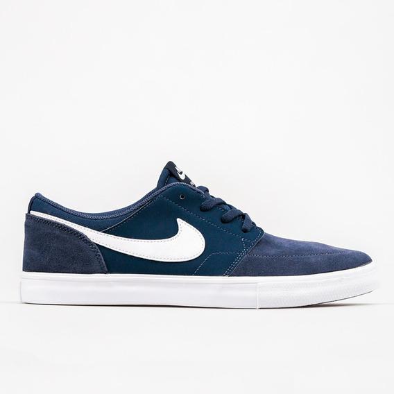 Tênis Nike Sb Portmore Ii Ss Marinho / Preto / Branco