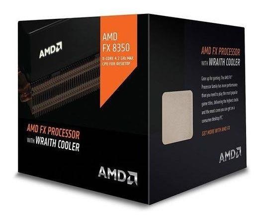 Processador Amd Fx-8350 4.0ghz Am3+ C/ Wraith Cooler Novo