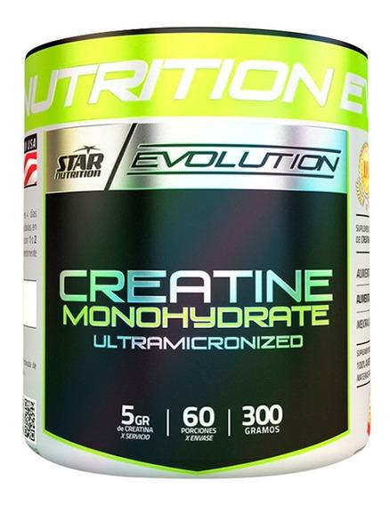 Creatina Star Nutrition 300 Gr Monohidrato Micronizada