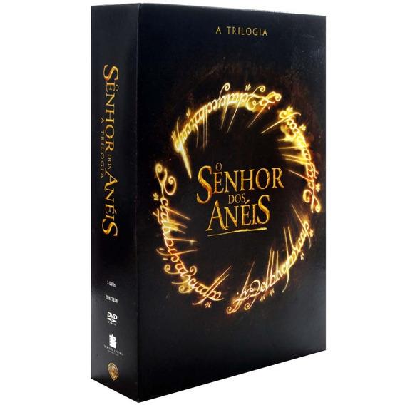 Dvd Coleção Trilogia O Senhor Dos Anéis - 3 Discos