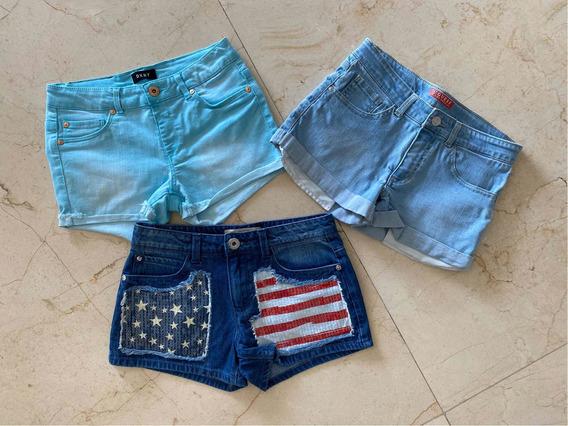 Shorts Guess Dkny Talle 12/14 Nuevos