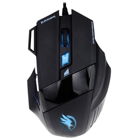 Mouse Gamer Fortrek Black Hawk Om703 Pt.