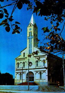 Reb-47530- Postal Rebouças, P R- Igreja M.do Senhor B. Jesus