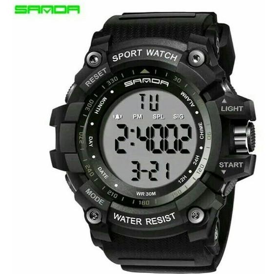 Relógios Masculino Sanda Digital Esporte Para Homens Militar