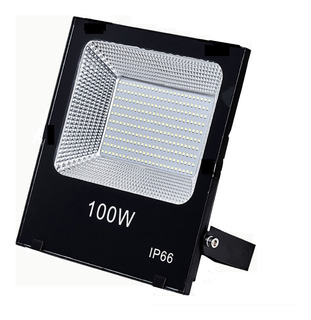 Foco Proyector Led Plano Reflector Multiled 100w Exterior