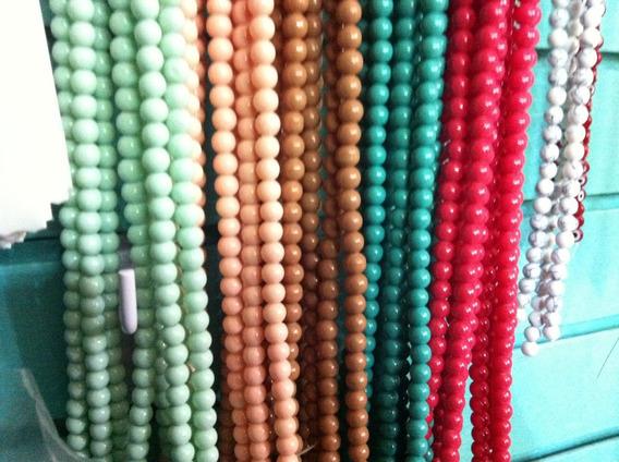 Cuentas Para Armar Pulseras Vidrio Candy 8mm
