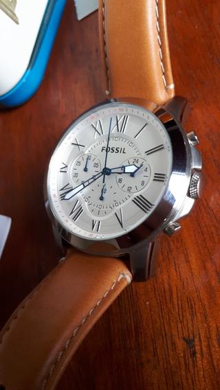 Reloj Fossil Fs5060 Original En Caja - Poco Uso - Como Nuevo