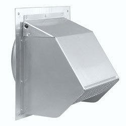 Broan 641 Wall Cap For 6 Round Duct For Range Hoods And Bat