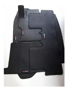 Tapete Borracha Civic C/ Traseiro Inteiriço+porta-malas