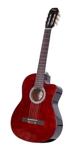 Guitarra Clasica Criolla Parquer Master Con Corte Marron