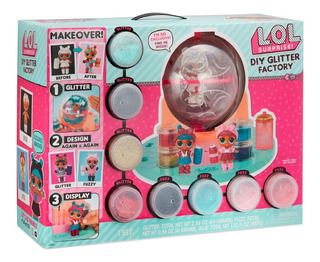 Lol Surprise Diy Glitter Factory Playset With Exclusive.