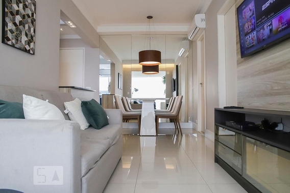 Apartamento No 14º Andar Com 1 Dormitório E 1 Garagem - Id: 892958773 - 258773
