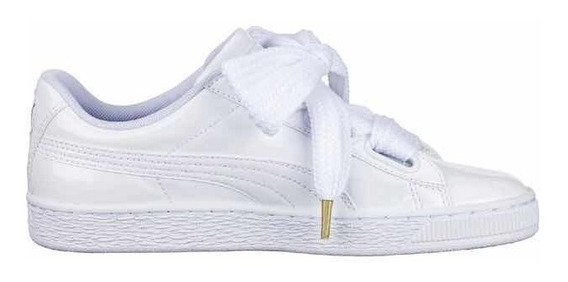 zapatillas blanca mujer puma