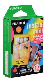 Filme Instantâneo Fujifilm Instax Mini Rainbow Pack 10 Un