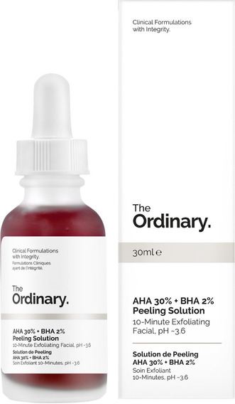 The Ordinary Aha 30% + Bha 2% Peeling Solution No Brasil