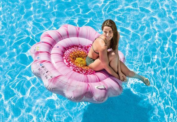 Colchoneta Flotador Inflable Flor Margarita Intex 24152/8 Mm