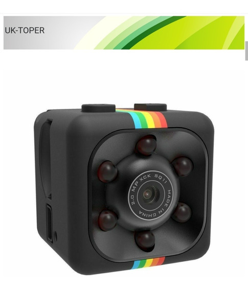 Mini Câmera Dv Dvr Full Hd 1080p Mini-car Dash Infravermelho