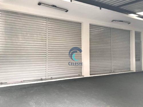 Salão Para Alugar, 40 M² Por R$ 1.250,00/mês - Centro - São José Dos Campos/sp - Sl0301