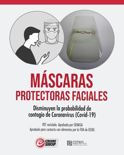 Máscara Protectora Facial 2x1