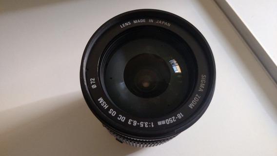 Lente Sigma / Macro (18 - 250mm) Usada