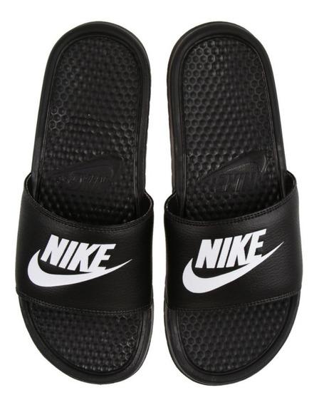 Nike Benassi Jdi Black White - Hombre
