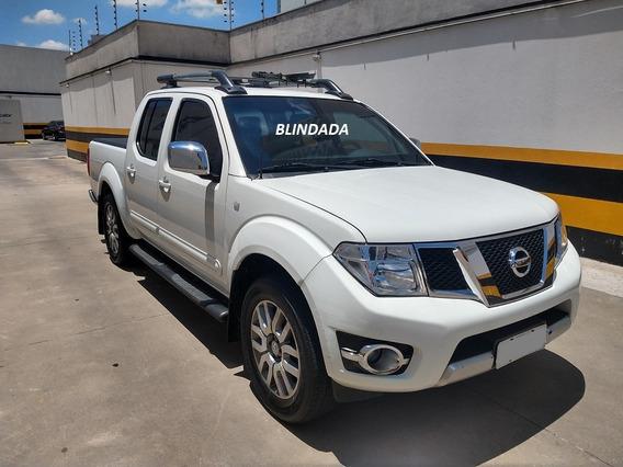 Nissan Frontier Blindada Sl 2.5 Turbo Diesel Top De Linha