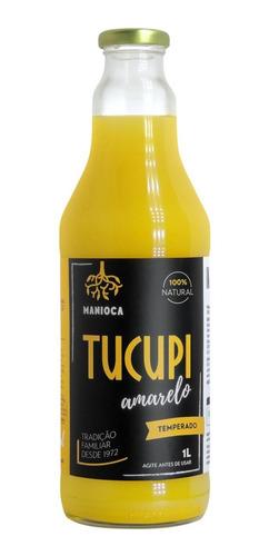 Imagem 1 de 3 de Tucupi Amarelo 1 L. 100% Natural. Sem Glúten E Vegano.