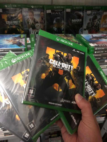 Jogo Call Of Duty Black Ops 4 Xbox One Lacrado