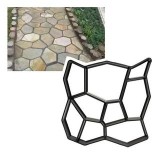 Moldes Para Cemento Sendero Modelo Geometrico 50x50cm Jardin