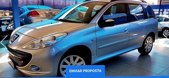 Peugeot 207 Sw Xs 1.6 Flex 16v Automático 2010 Prata