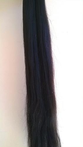 Imagem 1 de 3 de Mega Hair Humano 75 Cm. 200 Gr. Ondulado.