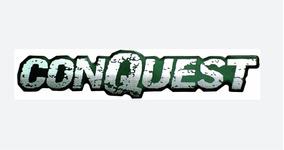 Emblema Adesivo Resinado Conquest Montana Alto Relevo