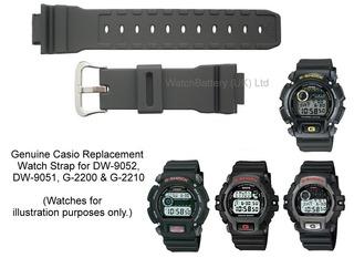 Correa Para Reloj Casio G-shock Dw-9052 Calodad Aaa Mejor !!