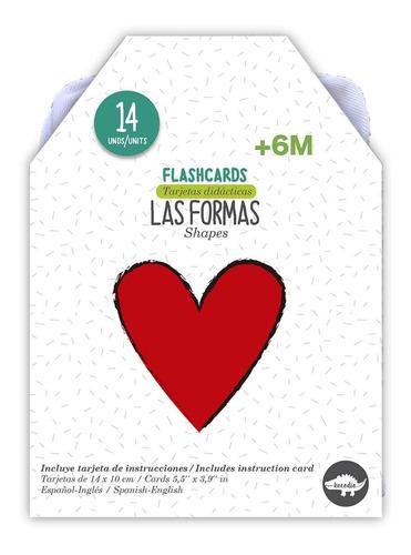 Flash Cards Las Formas- Kocodío