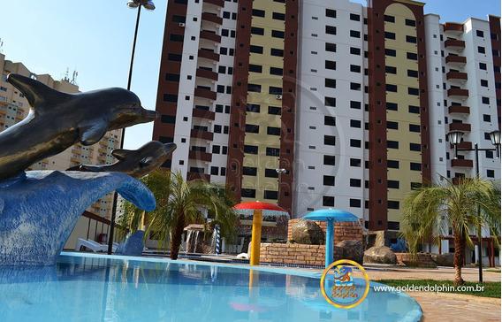 Apartamento Totalmente Mobiliado Condominio Golden Dolphin