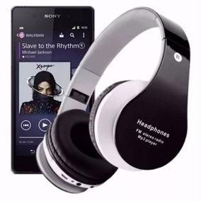 Head Fone De Ouvido Bluetooth Sem Fio Micro Sd Usb