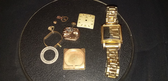 Relógio Omega De Pulso Feminino Plaquê De Ouro A Corda