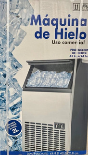 Maquina De Hielo 45kg Ice Maker Uso Comercial Envío Gratis