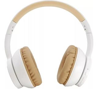 Auricular Bluetooth Harrison D1 Xbass Bateria 4hs Blanco