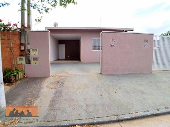 Casa Com 2 Dormitórios Para Alugar, 78 M² Por R$ 1.600,00/mês - Jardim São Gonçalo - Campinas/sp - Ca0889