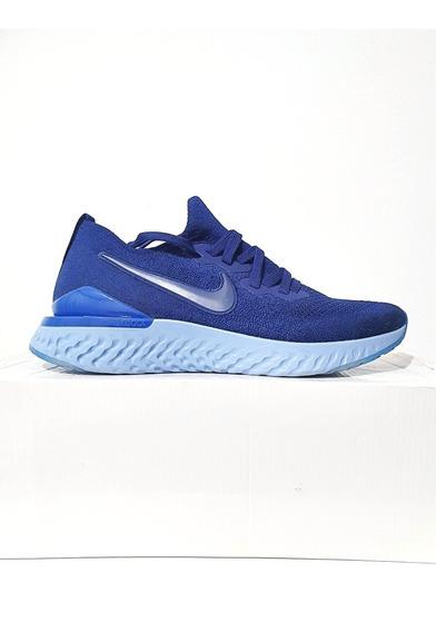 Tênis Nike Epic React Flyknit 2 Corrida Azul N. 39 40 41 42