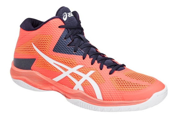 Tênis Asics V-swift Ff Mt Volleyball Volei Flash Coral