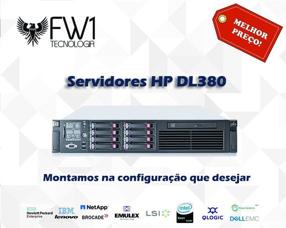 Servidor Hp Dl380 G7 2x Quadcore 2.4gh 32gb Ram 2x 300gb Sas