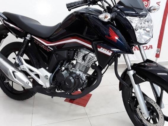 Honda Cg 160 Titan Flex, Com Freios Cbs, Painel Moderno