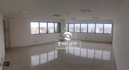 Sala Para Alugar, 46 M² Por R$ 2.500,00/mês - Centro - Santo André/sp - Sa0999