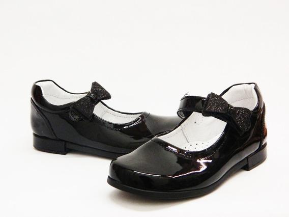 Zapatos Balerina Chabelo Escolares Para Niña 68404