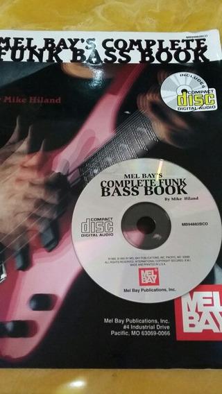 Método Bass Book Cd Áudio E Revista História De Guitarra