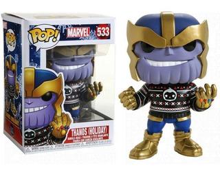 Funko Pop - Thanos - Spiderman - Navidad- Iron Spider - Thor
