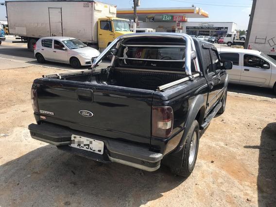 Ford Ranger Xls 2.3 4x2 2008 (cab Dupla) (preto)