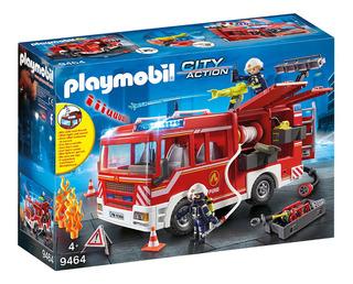 Camión De Bomberos Rescate Tactico Playmobil 9464 Playlgh